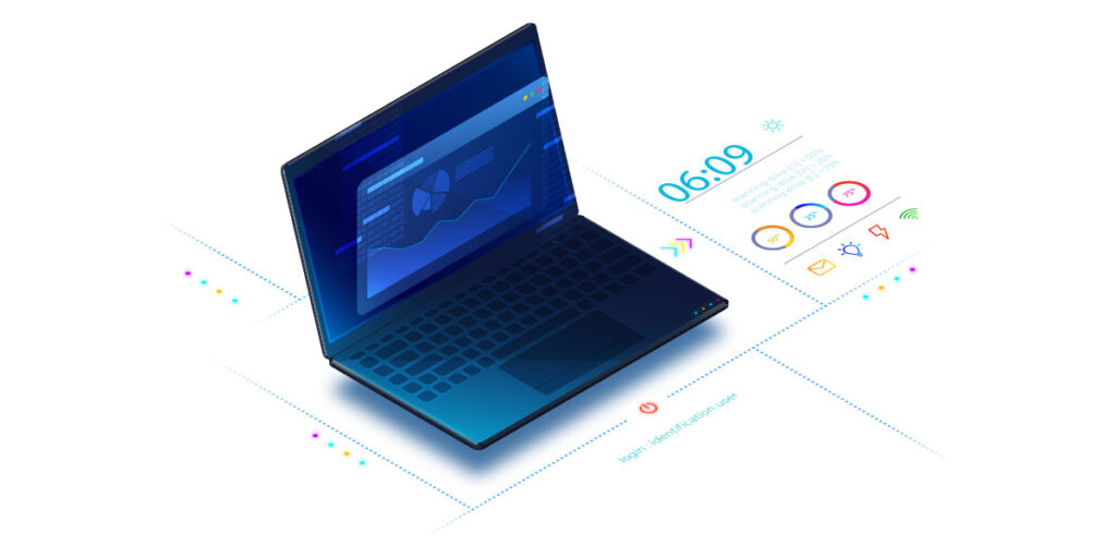 reporting software laptop